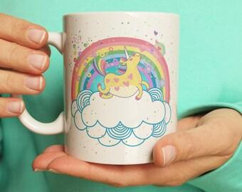 Unicorn Mug Big Coffee Mug Coffee Lover Mug Ceramic Mug Statement Mug Funny Mug Unique Mug Gift Mug Gift For Her Adorable Mug Cute Mug Gift