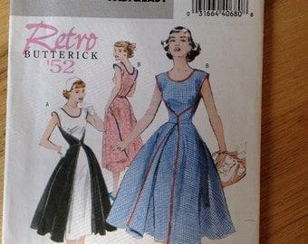 UNCUT Retro '52 Butterick 4790 Dress - size 8-10-12-14