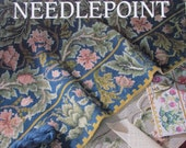 Victorian Needlepoint by Beth Russell/Hard Cover Craft Book/1989/Contains 60 Needlepoint Charts