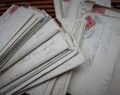 Bundle of Antique Love Letters - 1907 Edwardian Handwritten Courtship - Downton Abbey Romance