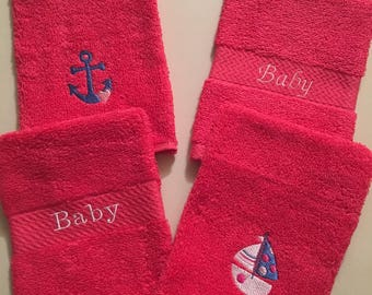 Baby Wash Mitts/Baby Bath - Set of 4
