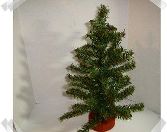 Artificial Pine Tree Decoration- Medium Size /Holiday Decorations/ Supplies*