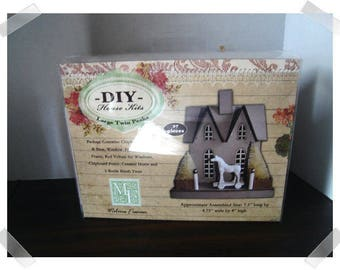 Large Twin Peaks House Kit/ Craft Supplies*