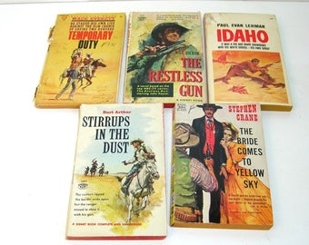 Paperback Western Book Collection