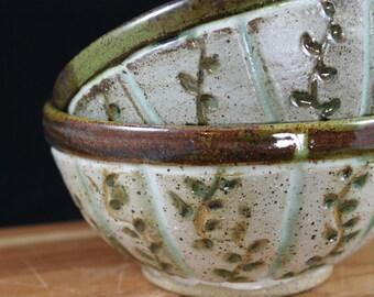 Vines bowl: Green