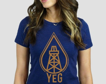 YEG Oil Drop T-Shirt
