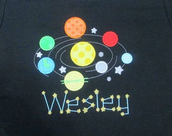 Solar System Shirt Boys Solar System Shirt Girls Solar System Shirt