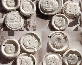 One (1) Resin Wax Seal Reproduction