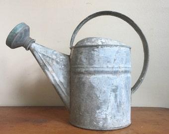 Rustic Metal Watering Can