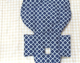 high chair cushion, Evenflo high chair cover, highchair replacement pad,cushion,baby accessory, baby furniture and child care, navy blue