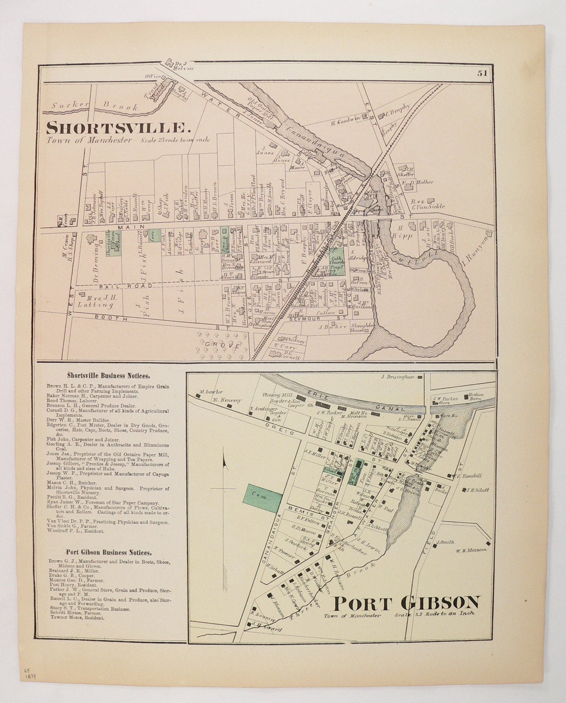 New york ontario county port gibson -  Zoom