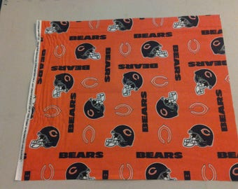 cotton fabric of the Chicago Bears 247881