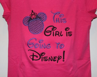 This Girl is Going to Disney- First Disney trip shirt or ruffle dress