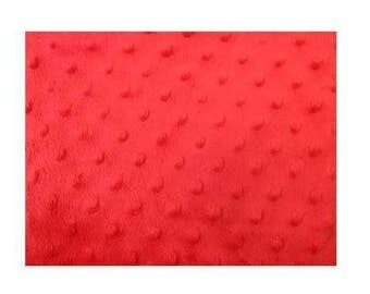 "Fabric many colors minky Photo Floor Prop 36"" x 36"" baby craft blanket 1 yd X 1 yard RED"