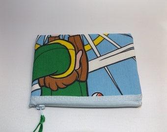 Legend of Zelda Fabric Coin Purse- Handmade  Nintendo- Link