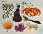 garden variety sticker pack by Shanna Trumbly