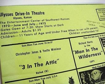 Drive In Theatre Movie Schedule Ulysses Kansas