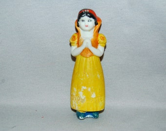 Vintage / Disney / Snow White / Bisque / Doll / frozen charlotte / penny doll / Vintage dolls