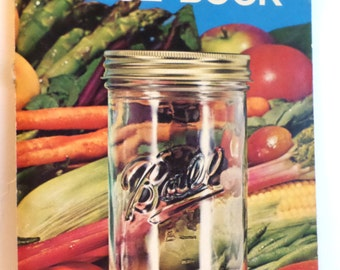 1974 Ball Blue Book Canning Cookbook Vintage Cookbook 112 Pages Softcover
