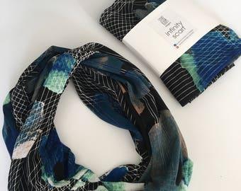New York nights infinity cowl scarf