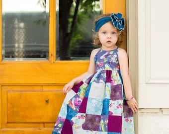 Girls Sewing Pattern, GIrls Dress Pattern, Tween Sewing Pattern, Tunic Sewing Pattern, Dress Pattern, Maxi Dress, Amsterdam PDF Pattern