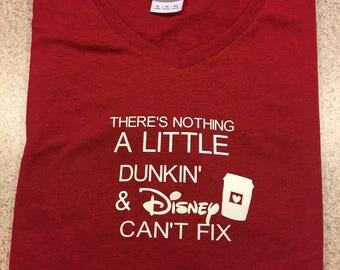 Disney Dunkin Coffee Tshirt