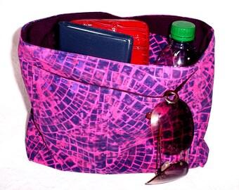 Large Purse Insert, Handmade Bag Organizer, Fabric Insert Organizer, Extra Handbag Pockets, Purse Insert Liner, Handmade Gift, Organizer