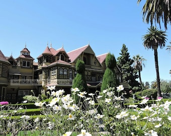 Winchester Mystery House photograph