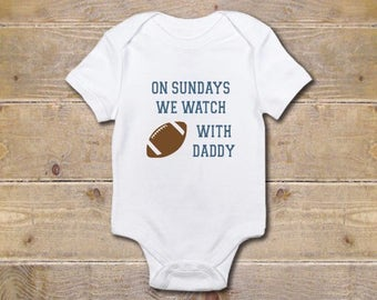 Football, Football Baby Onesie, Football Fans, Sports Onesie, Baby Shower Gift, Baby Clothes, Shirt, New Baby Gift, Girl, Boy,
