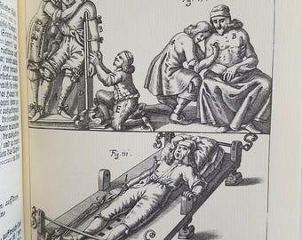 VTG 1974 German Latin Wound-Artzian Stuff-Haub Johann Schultes Amadeus Megerlin