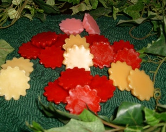Variety Pack of Scented Wax Melts, Includes 8 popular fragrances for Wax Melt Warmers: Autumn Lodge type, Autumn Pear, Baby Magic, etc.