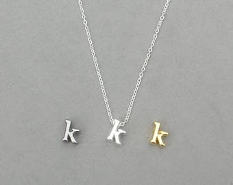 Initial k Necklaces