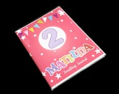 Personalized little girls journal notebook diary memory book kids scrapbook album doodling birthday party favors