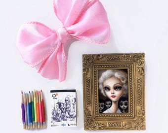 Big Eyed Dolly Gift Set - by Mab Graves