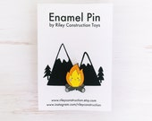 Happy Campfire Enamel Pin