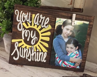 you are my sunshine frame picture - you are my sunshine picture frame - you are my sunshine sign