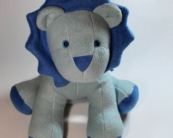 Little Boy Blue Stuffed Lion