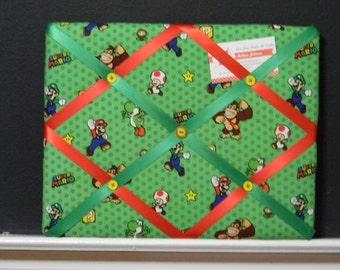 11 x 14 Nintendo Super Mario Characters Memory Board