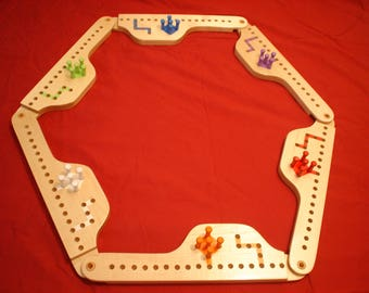 Pegs and Jokers Board Game