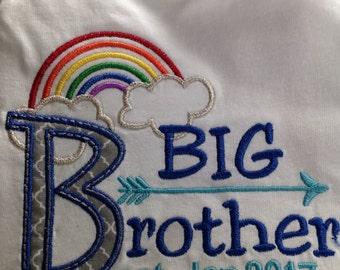 Big Brother, arrow print, Rainbow