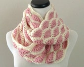 ON SALE CROCHET Pattern - Chunky Crochet Infinity Scarf Pattern, Infinity Cowl Pattern, Easy Crochet Pattern, Beginner Crochet Pattern