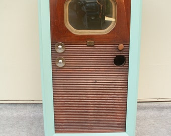 Vintage TV Television Cabinet Shell Local Pick up Only