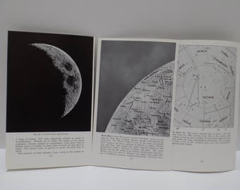 Free Shipping Vintage Moon Book Pages 6 Sheets 12 Pages