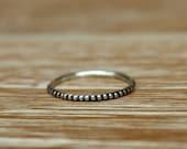 Beaded Stacking Ring