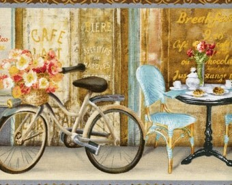 Le Cafe Stripe - Willmington Prints - Half Yard