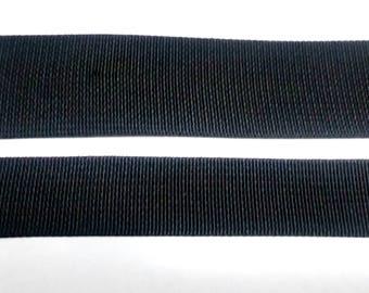 "Black Nylon Webbing Straps .75"", 1"", 1.5"", 2""  DIY Babywearing Baby Carriers. Kinderpack Hood Straps"