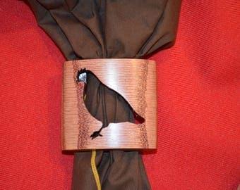 Wood badge Bobwhite  Neckerchief Slide Handmade