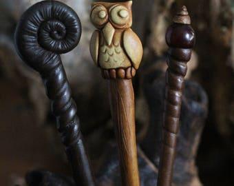 Tribal hairpin hair stick