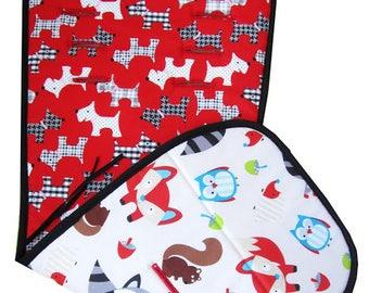 Custom Stroller Liner, Pram Liner, Stroller Liner ,Made to order baby stroller Britax B-Motion ,Choose Cotton Your Fabric