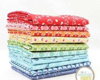 "Lori Holt - Fat Quarter  Bundle - 10 - 18""x21"" Cuts - for Riley Blake Quilt Fabric"